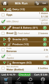 Shopping list (Shopping Pro)